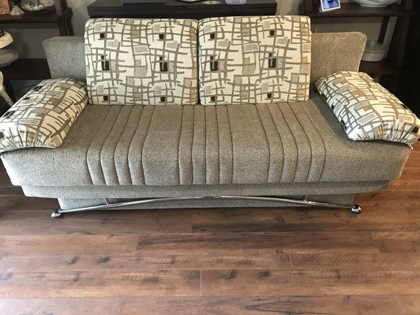Fold Out Couch With Storage Sofa Cushions European Style