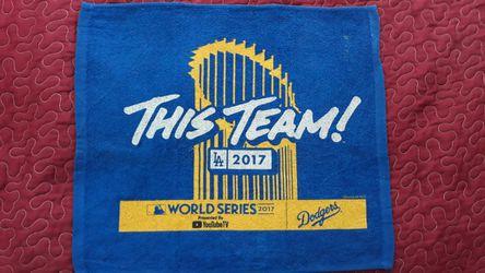 Dodgers rally towel $5 each Thumbnail