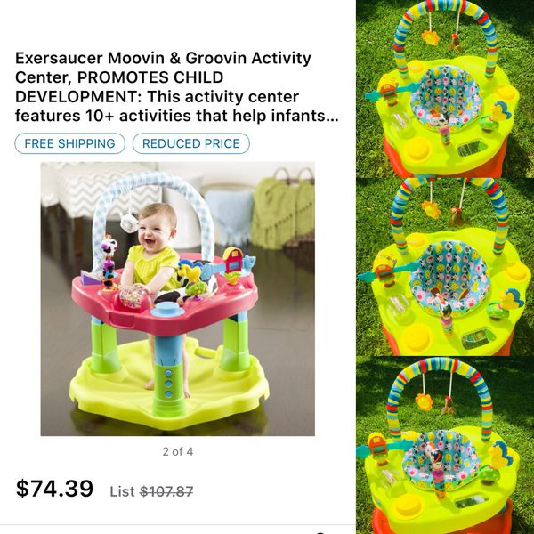 6bb8b5c14660 Activity Center Exersaucer promotes child development. for Sale in ...