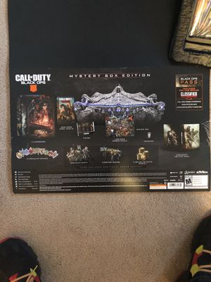 Xbox one black ops mystery box!!! 45 for just the game for Sale in Bolingbrook, IL