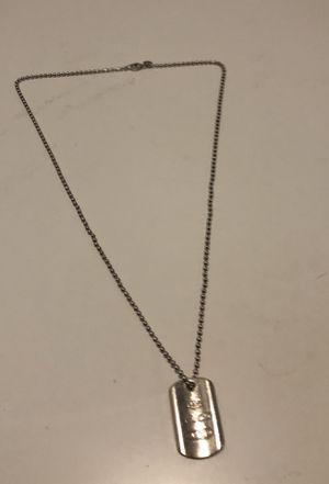4f1407e3d Silver 29g 1837 Tiffany & Co. Tag Pendant Necklace for Sale in Miami  Gardens,