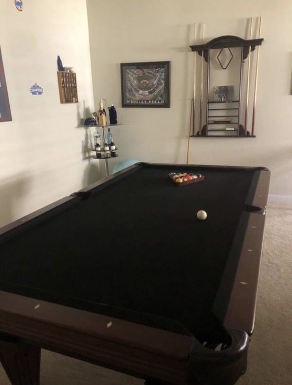Craftmaster Pool Table Cues Rack For Sale In Davenport FL - Craftmaster pool table