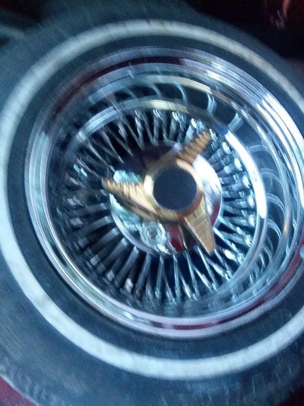 Roadster wire wheels (Auto Parts) in Baytown, TX - OfferUp