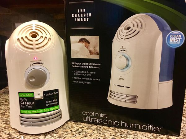 Cool Mist Ultrasonic Humidifier From The Sharper Image For Sale In