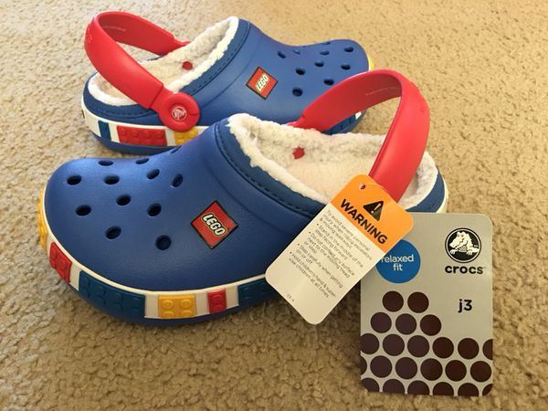 e431a29c5c85 Boys lego crocs new for Sale in South San Francisco