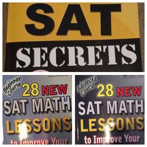 3 SAT Study Books for the 2016 SAT for Sale in Phoenix, AZ