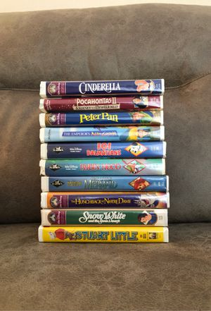 Photo Collection of 10 Disney VHS Movies