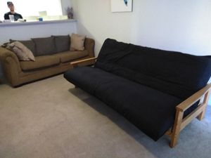 Futon and couch for Sale in Farmville, VA