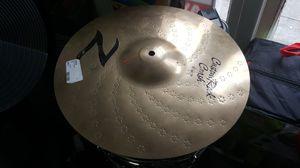 Zildgian Rock crash symbol for drum set for Sale in Baltimore, MD