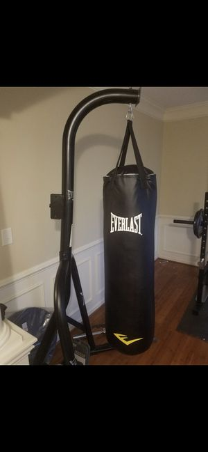 Punching bag and stand for Sale in Charlotte, NC