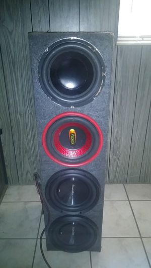 4. 10 subs with box for Sale in Tampa, FL