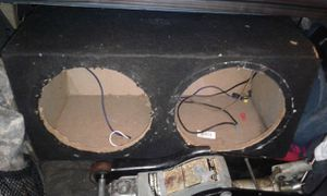 12s subwoofers box $20 for Sale in Dallas, TX