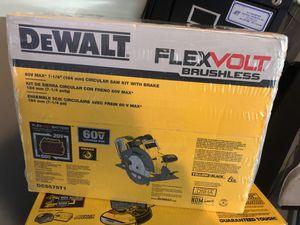 Dewalt flexvolt saw for Sale in Silver Spring, MD