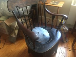 Antique wood potty chair for Sale in Brookline, MA