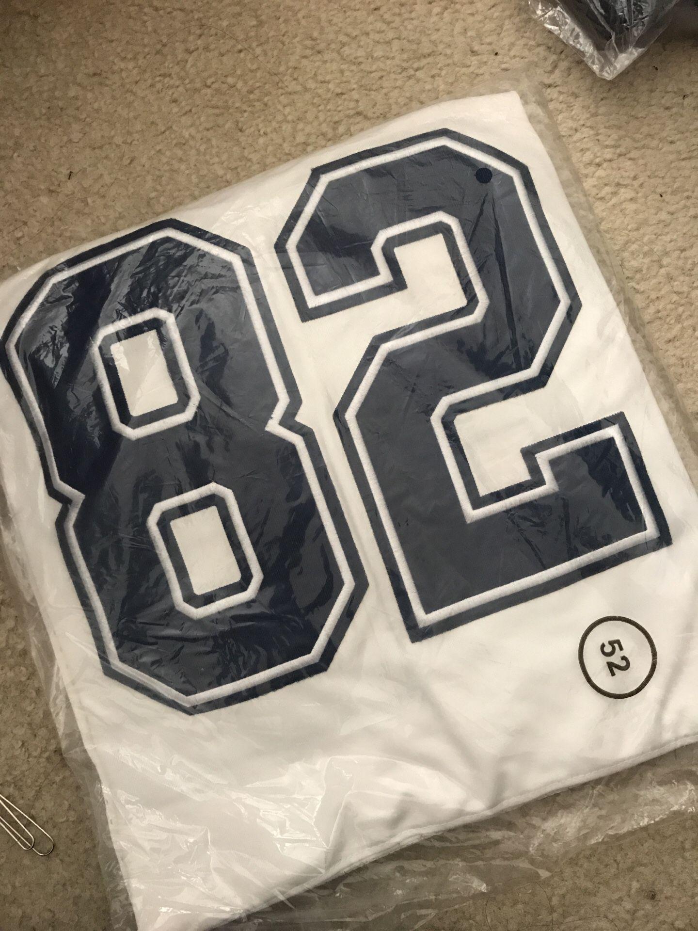 Jason Witten #82 Dallas Cowboys Nike Elite New Stitched Jersey White Size 2XL
