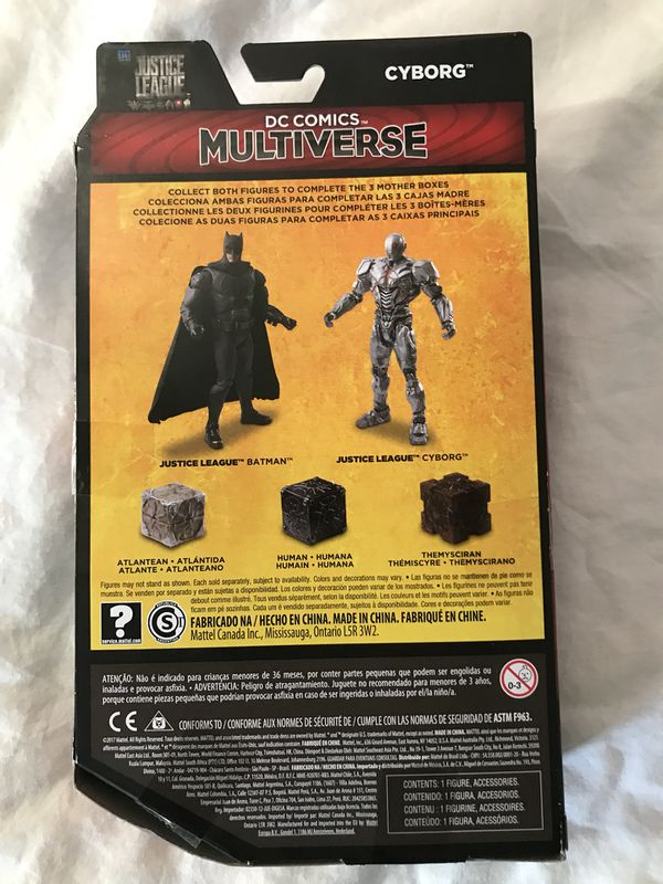 justice league cyborg walmart exclusive figure no mother box accessory for sale in north andover ma offerup
