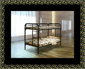 Twin bunk bed with mattress for Sale in Washington, DC
