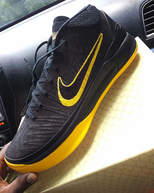 hot sale online 8e9db 7ff52 Nike kobe ad mid black mamba retro jordan