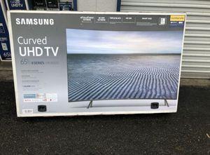 "Samsung UN65MU850D 65"" Curve Premium 4K UHD HDR LED Smart TV 2160p (FREE DELIVERY) for Sale in Renton, WA"