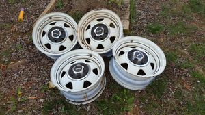 87 - 95 Jeep wrangler Rims set of 4 for Sale in Charles Town, WV