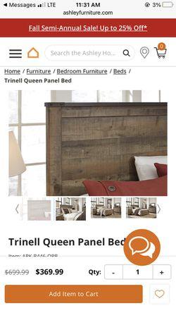 Bed Frame Ashley Furniture /  Dresser Option Thumbnail