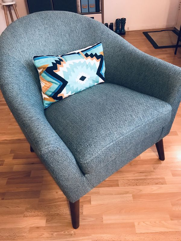 Strange Finn Reed Midcentury Accent Chair Living Spaces For Sale Unemploymentrelief Wooden Chair Designs For Living Room Unemploymentrelieforg