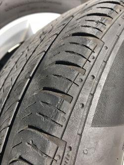 "16"" VW Rims & tires. W/ lugnuts /bolts Thumbnail"