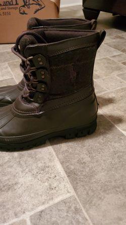 Brand New Ralph Lauren boots size 7y Thumbnail