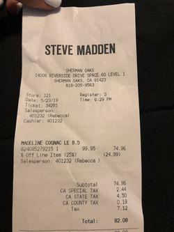 Steve Madden size 8.5 Thumbnail