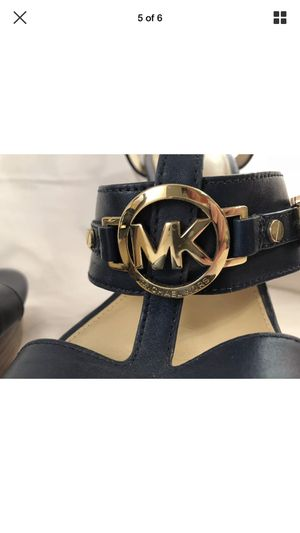 Michael Kors women's shoes New navy color size 9 for Sale in Annandale, VA