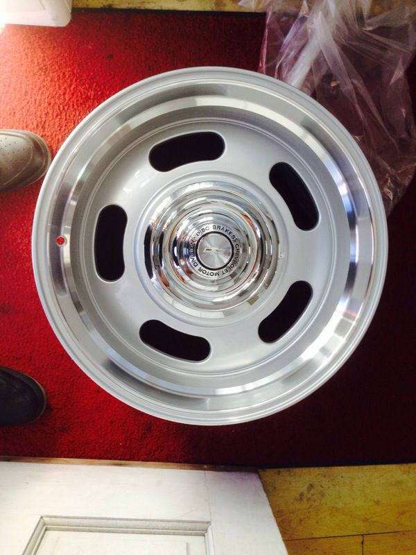 STAGGERED 18 INCH CHEVY RALLY WHEELS for Sale in San ...