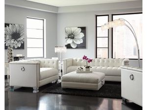 BEAUTIFUL LIVING ROOM WHITE just $40 down payment to take it home(no credit needed) for Sale in Hialeah, FL