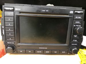 Radio Stereo System (GPS Navigation/6 CD Player Changer) for Sale in Washington, DC