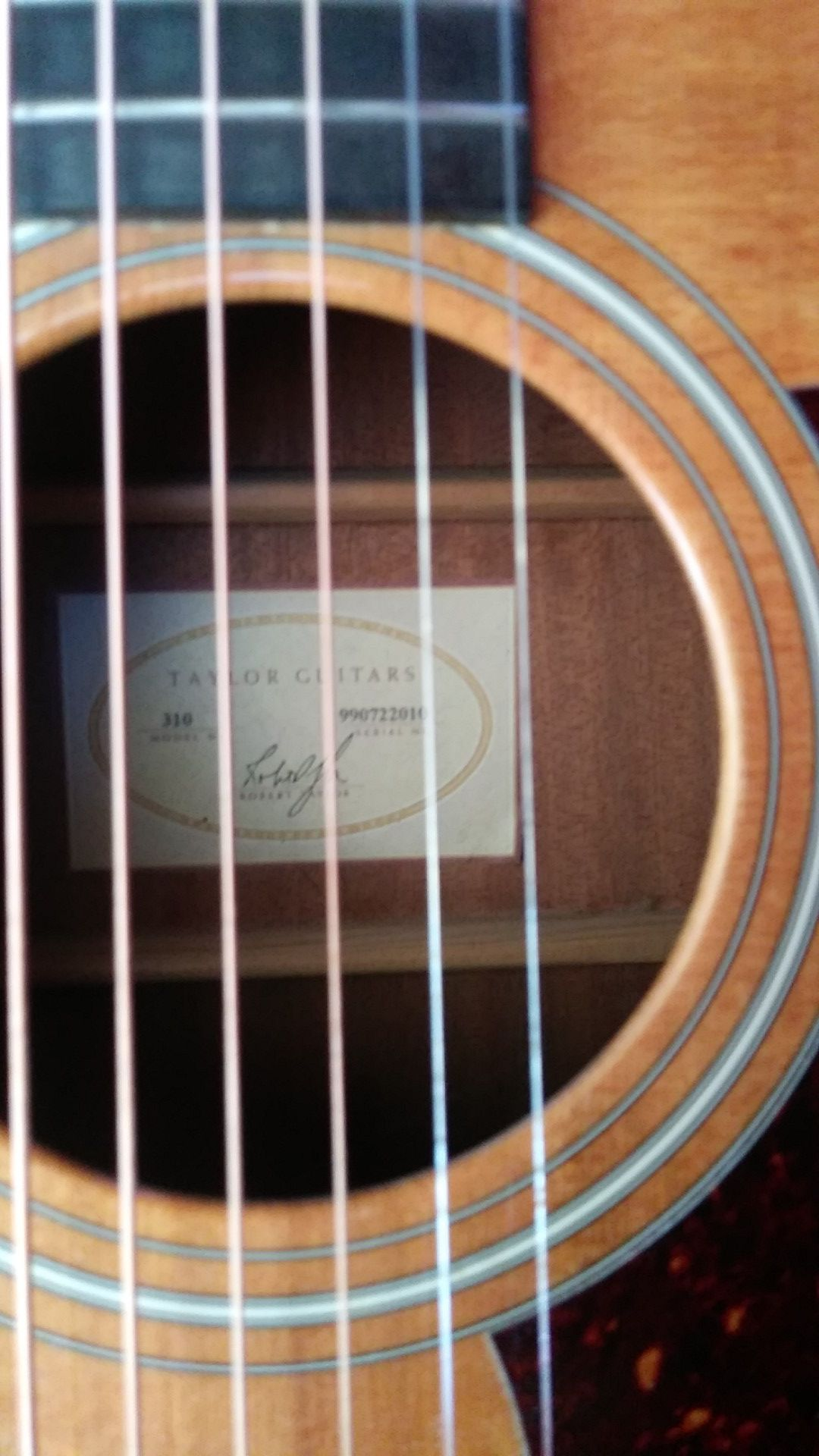 1999 Taylor 310 acoustic guitar