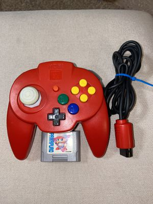Photo Official Red Hori Mini Pad for N64
