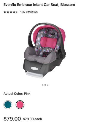 Photo Infant car seat $55 new conditions