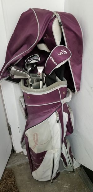 Wilson Breast Cancer Awareness Golf Clubs for Sale in Los Angeles, CA