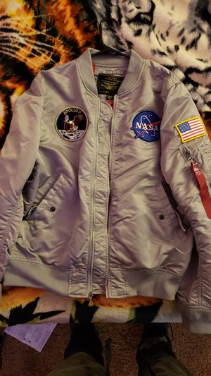 Alpha Industries NASA Bomber Jacket for Sale in Boyds, MD