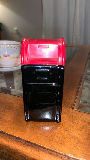 Photo Vintage Avon mailbox wild country aftershave