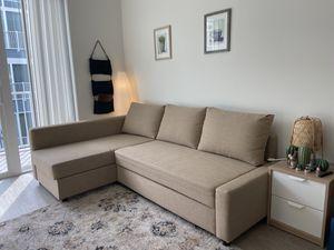 Photo IKEA sofa bed with storage