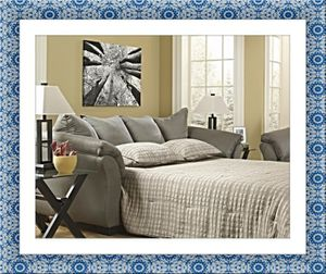 Ashley sofa bed comes in color for Sale in Marlow Heights, MD
