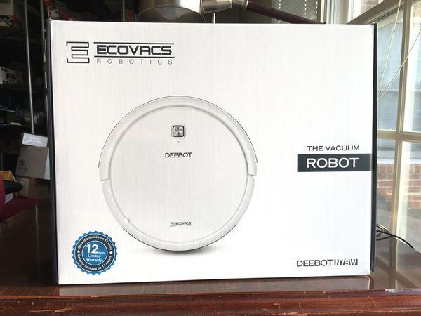 New Ecovacs Deebot N79w Multi Surface Robotic Vacuum