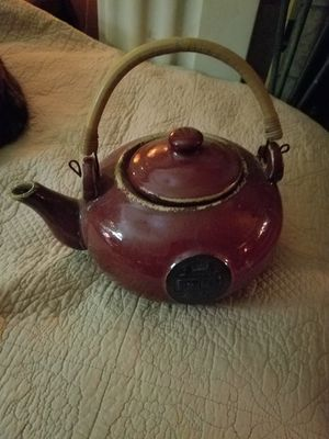 Asian Pottery teapot for Sale in Austin, TX
