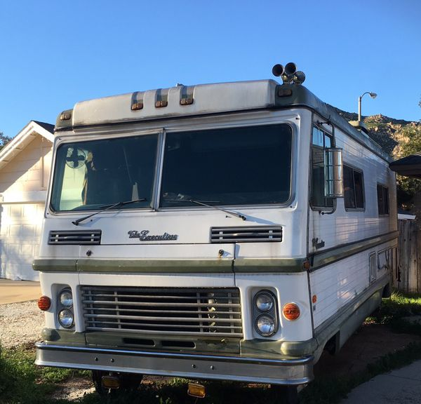 1974 Dodge executive RV fully self-contained for Sale in Moreno Valley, CA  - OfferUp