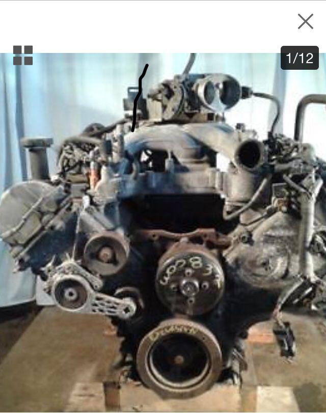 Photo 1999 Ford V10 complete motor