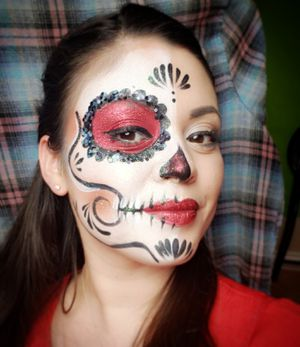 Dia De Los Muertos Face Painting And Schedule Book Before Its Too