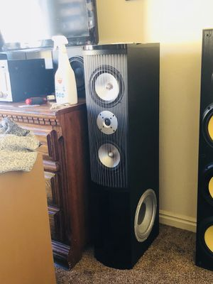 Shitty theater research white van speakers for Sale in Kamas, UT