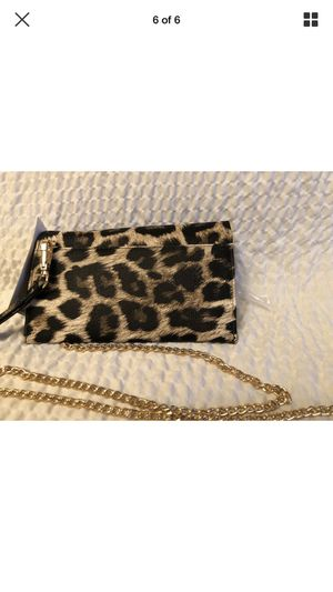 Photo Steve Madden wristlet with coin purse and removable chain strap