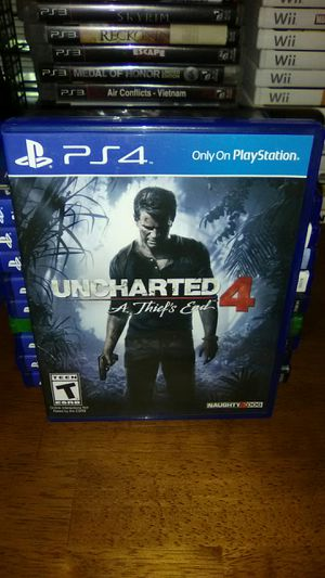 UNCHARTED 4 A THIEFS END PS4 for Sale in Sanford, FL