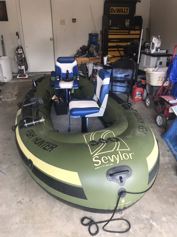Sevylor Fish Hunter 360 Bass Boat Mod For Sale In